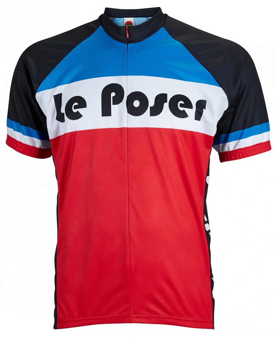 Le Poser Mens Cycling Jersey