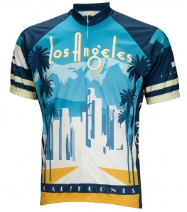 Los Angeles Mens Cycling Jersey