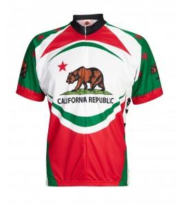 California Bear Mens Cycling Jersey