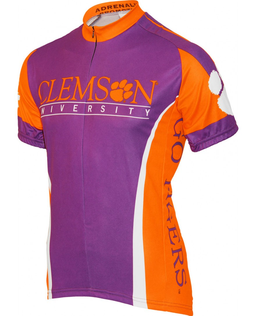 Clemson Tigers Cycling Jersey