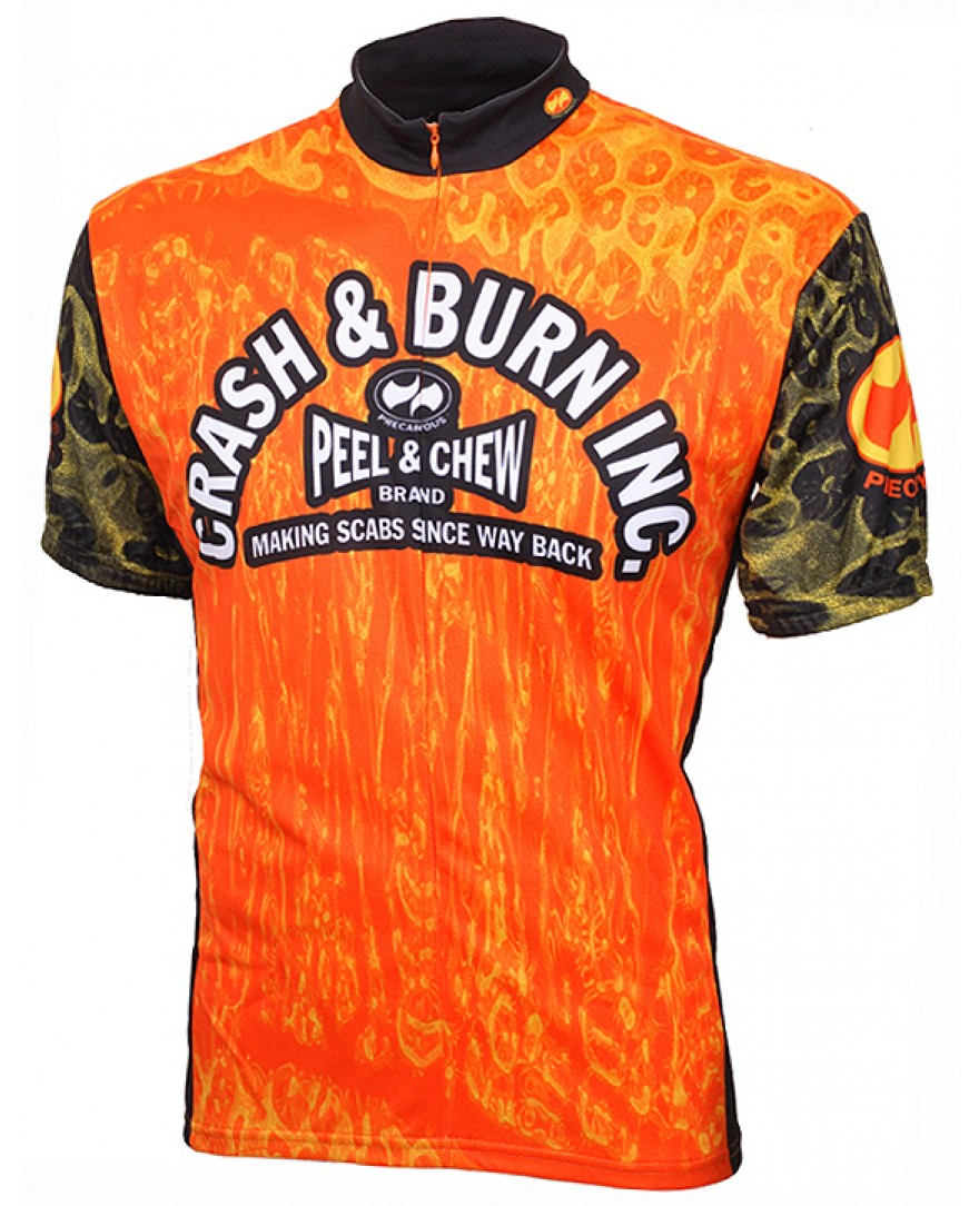 Precaryous Crash & Burn Jersey Orange