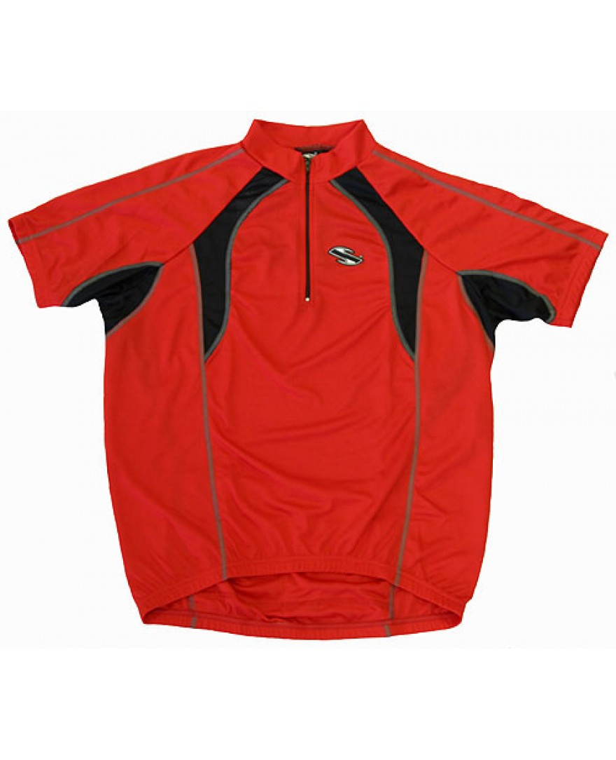 eCycle Brexus Cycling Jersey Red