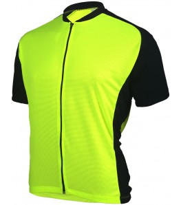 eCycle Criterium Mens Cycling Jersey Neon Yellow