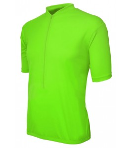 eCycle High Viz Green Road Jersey