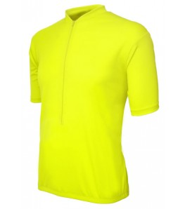 eCycle Neon Yellow Road Jersey