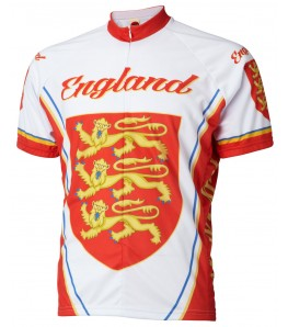 World Jerseys England Team Cycling Jersey