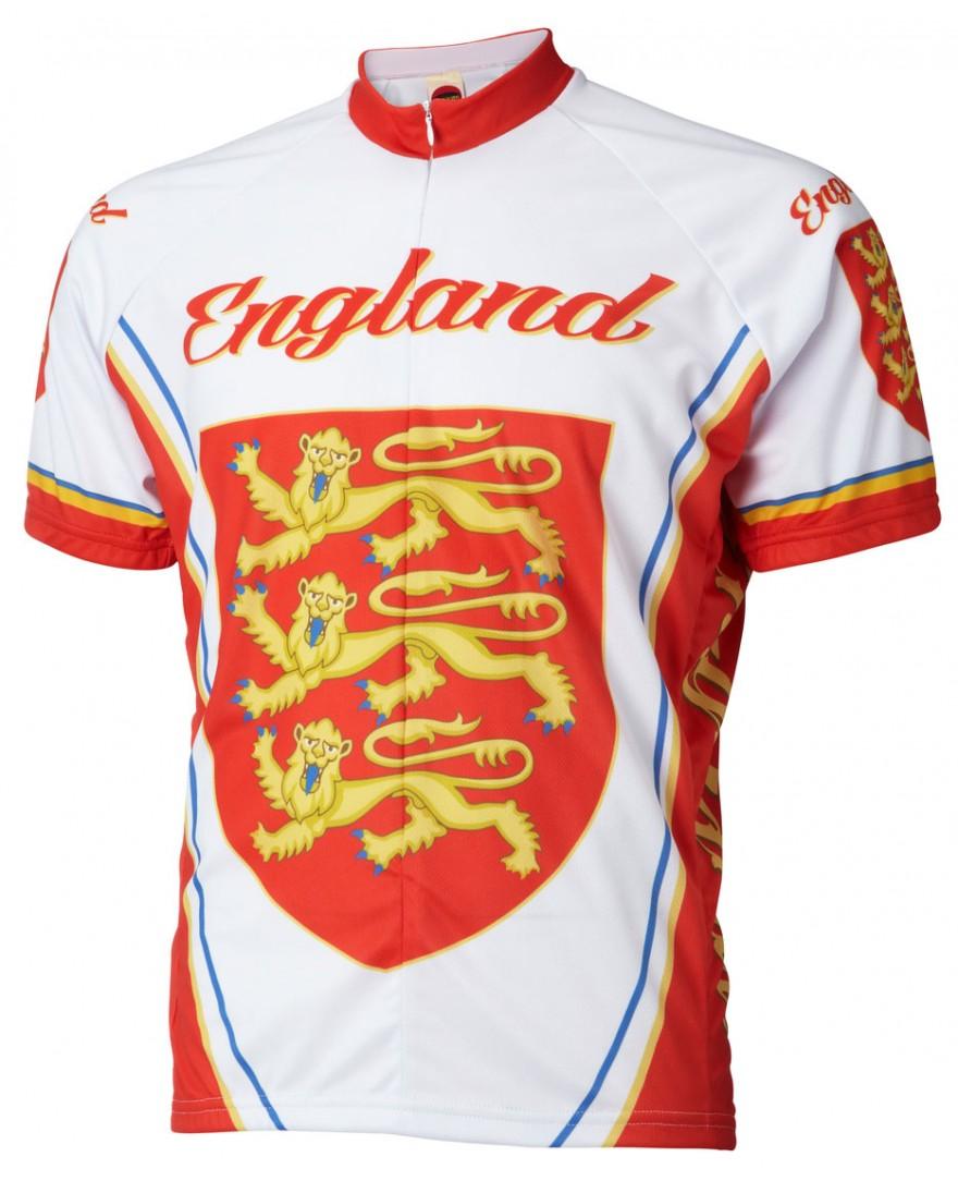 World Jerseys England Team Cycling Jersey