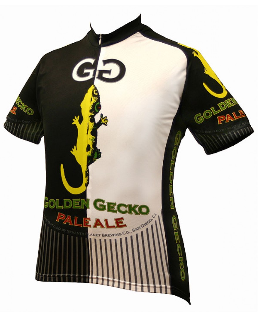 World Jerseys Golden Gecko Pale Ale Cycling Jersey