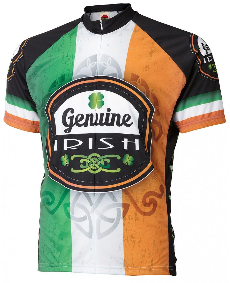 World Jerseys Ireland Team Cycling Jersey