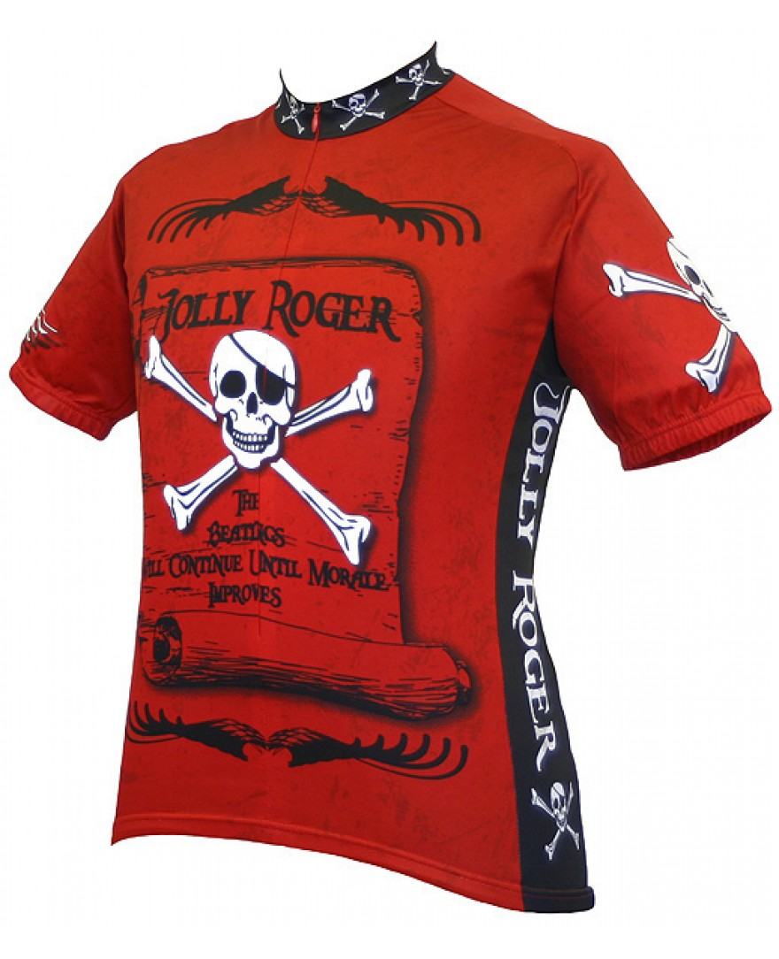 World Jerseys Jolly Roger Pirate Cycling Jersey