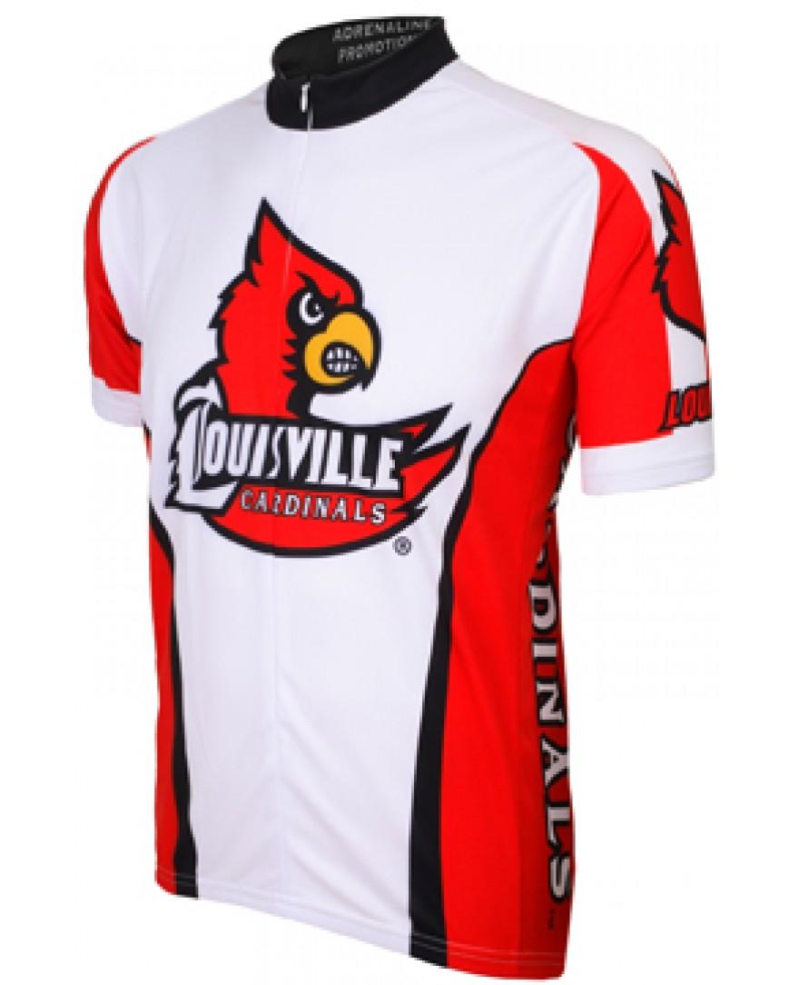 a8448404b Louisville Cardinals Cycling Jersey - Men s Cycling Jerseys ...