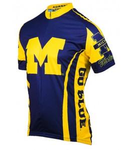 Michigan University Wolverines Cycling Jersey