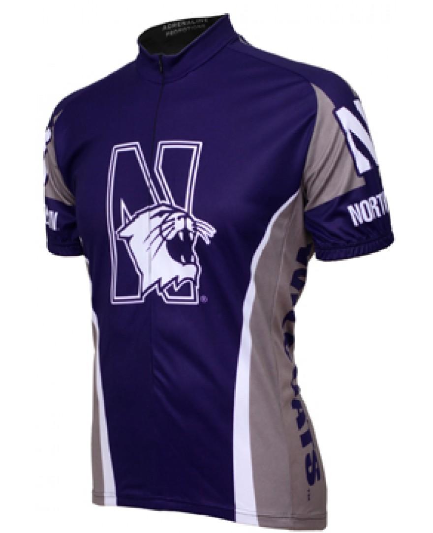 Northwestern University Cycling Jersey