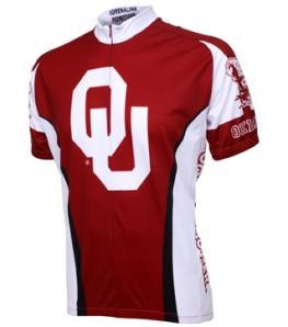Oklahoma Sooners Mens Cycling Jersey