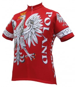 World Jerseys Poland Team Cycling Jersey