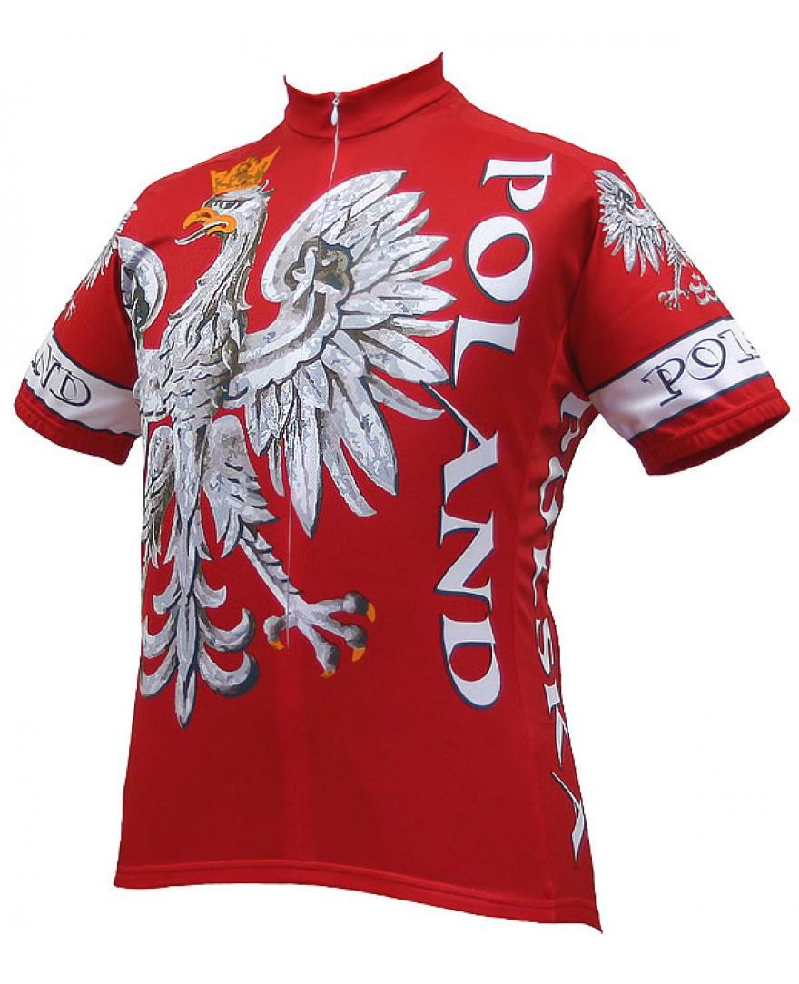 World Jerseys Poland Team Cycling Jersey