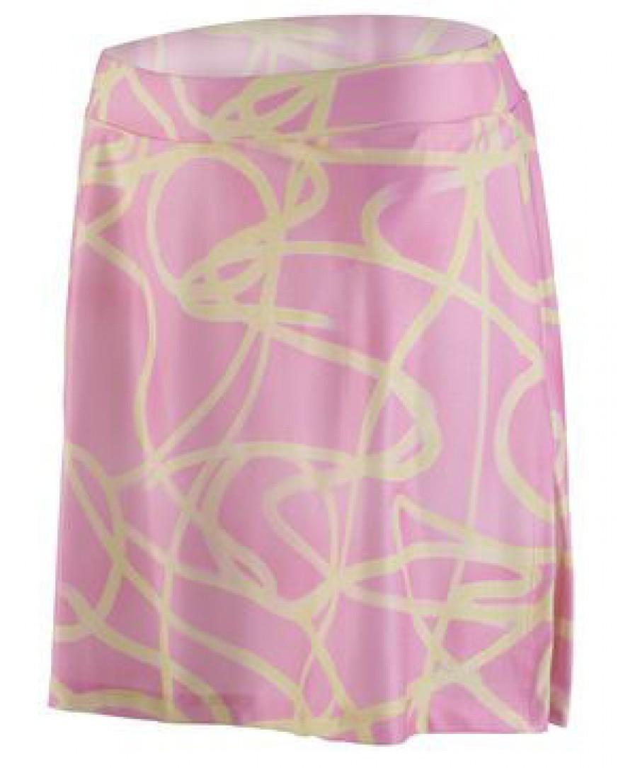 eCycle Womens Cycling Skirt Pink Swirly