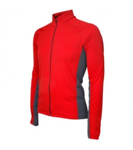 Formaggio Whistler Winter Mens Cycling Jersey Red