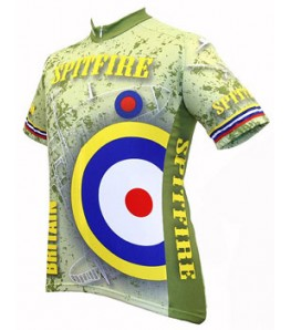 World Jerseys Britain Spitfire Cycling Jersey