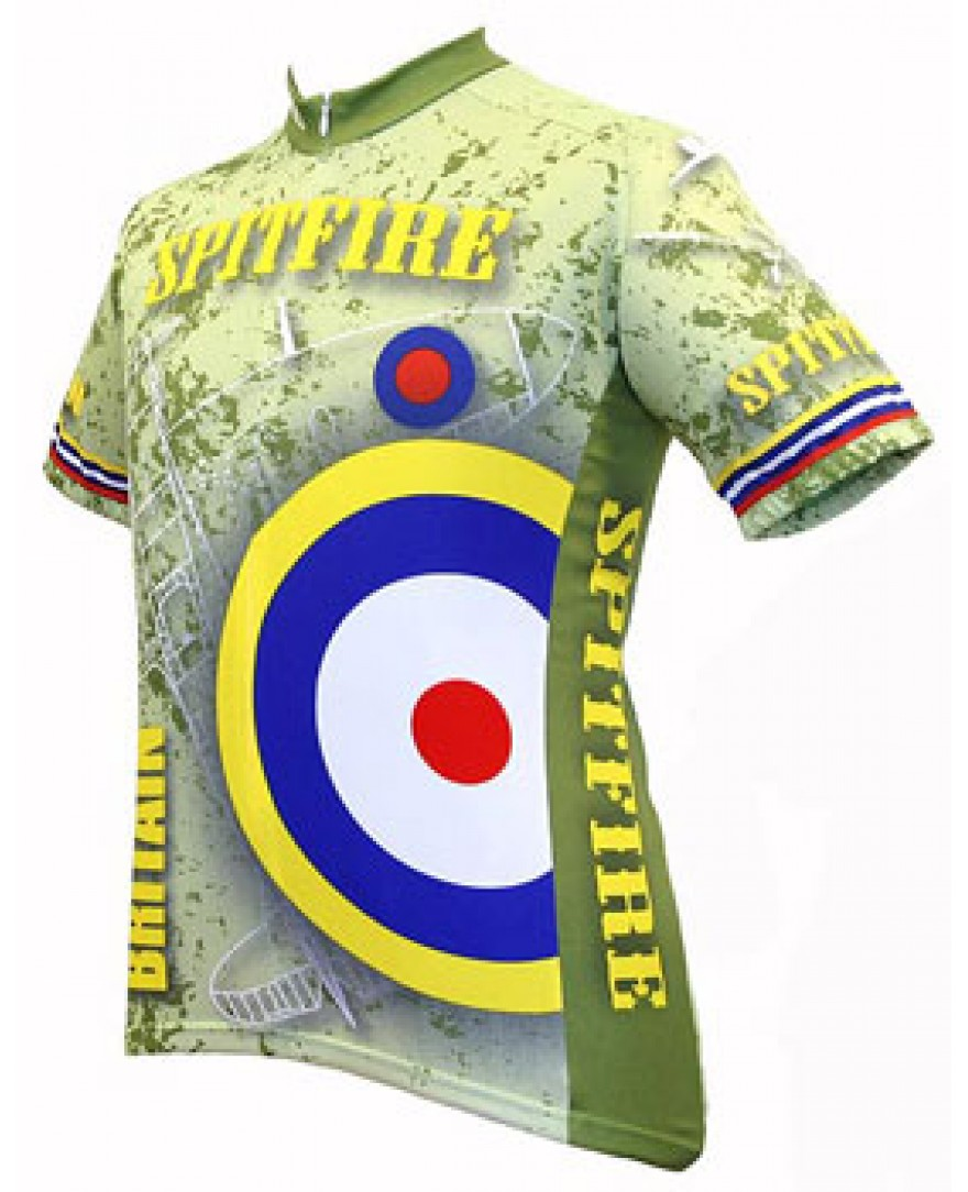 World Jerseys Britain Spitfire Cycling Jersey