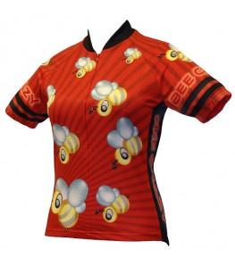 World Jerseys Bee Crazy Womens Cycling Jersey