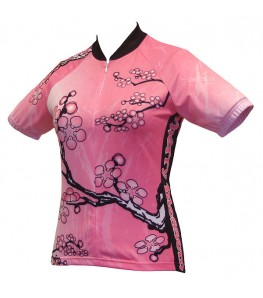 World Jerseys Cherry Blossom Womens Cycling Jersey