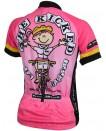 Precaryous Womens Jack & Jill Jersey Pink