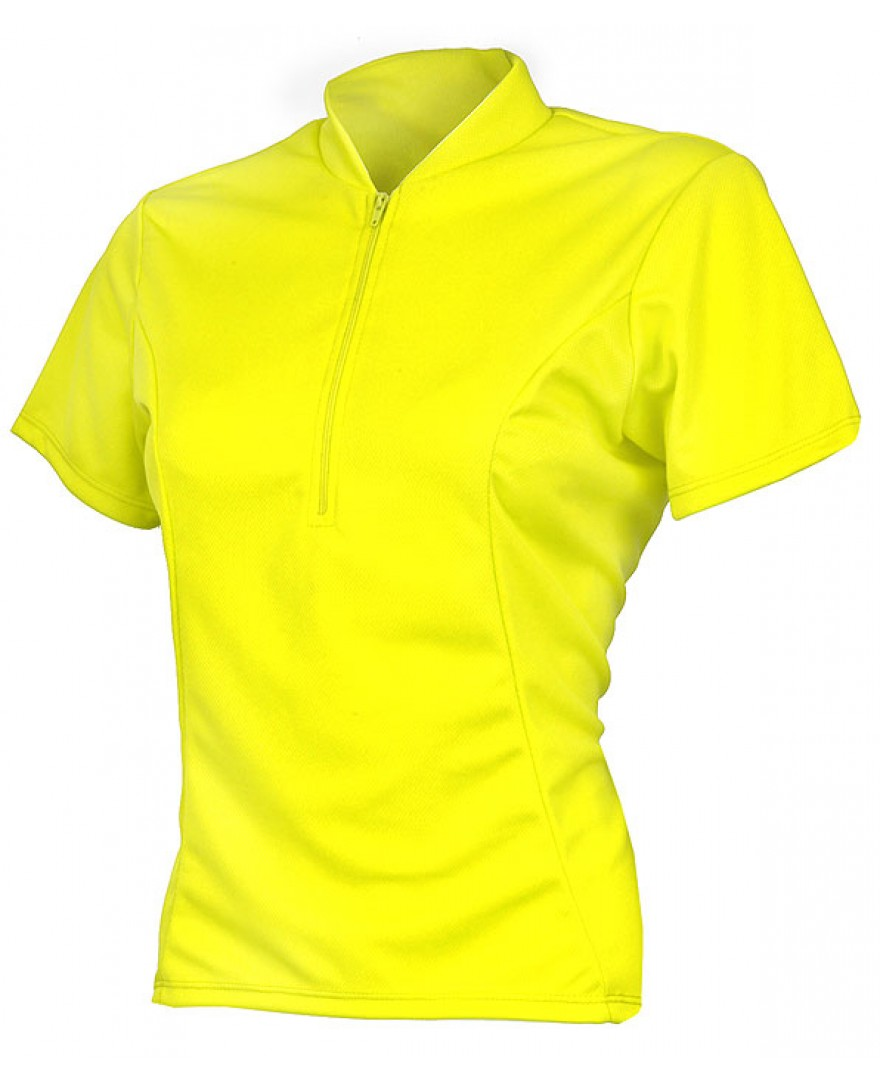 eCycle Womens Neon Yellow Jersey