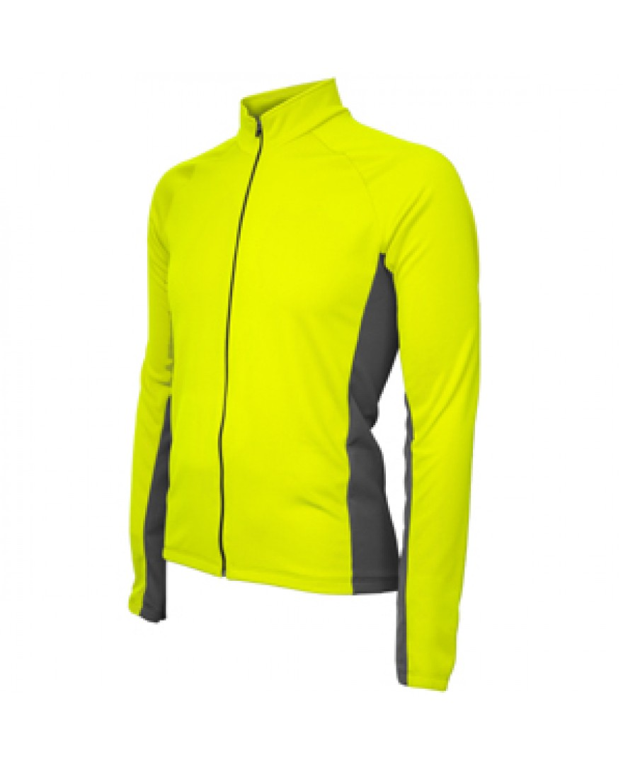 Formaggio Whistler Winter Mens Cycling Jersey Neon