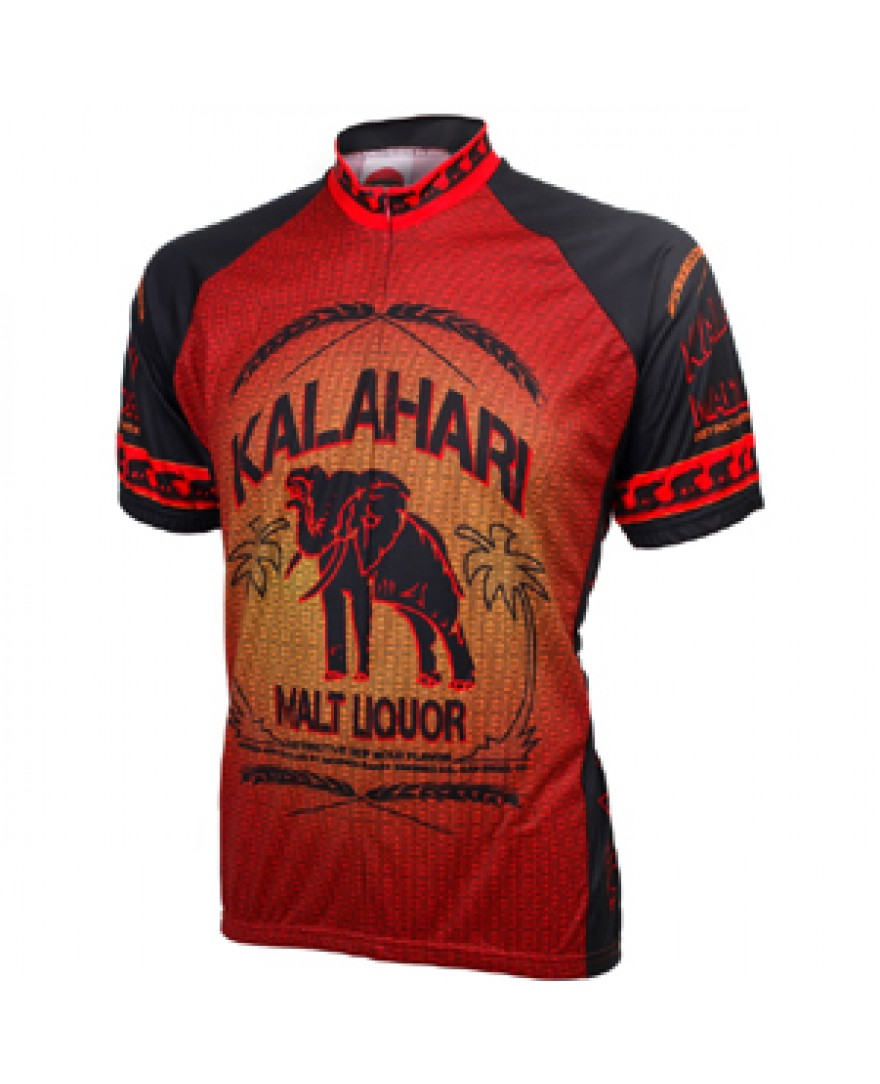 World Jerseys Kalahari Malt Liquor Cycling Jersey