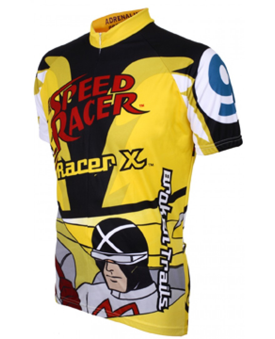 Speed Racer Mens Racer X Cycling Jersey