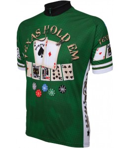 World Jerseys Texas Hold em Cycling Jersey
