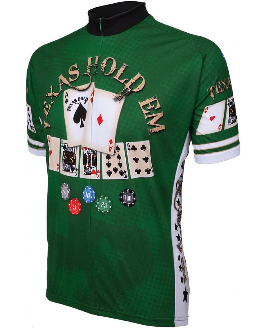 World Jerseys Texas Hold em Cycling Jersey