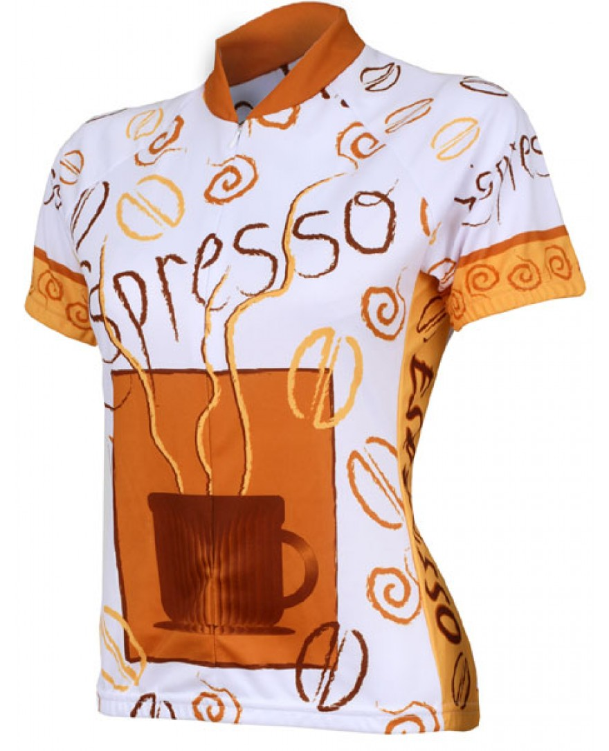 World Jerseys Espresso Womens Cycling Jersey