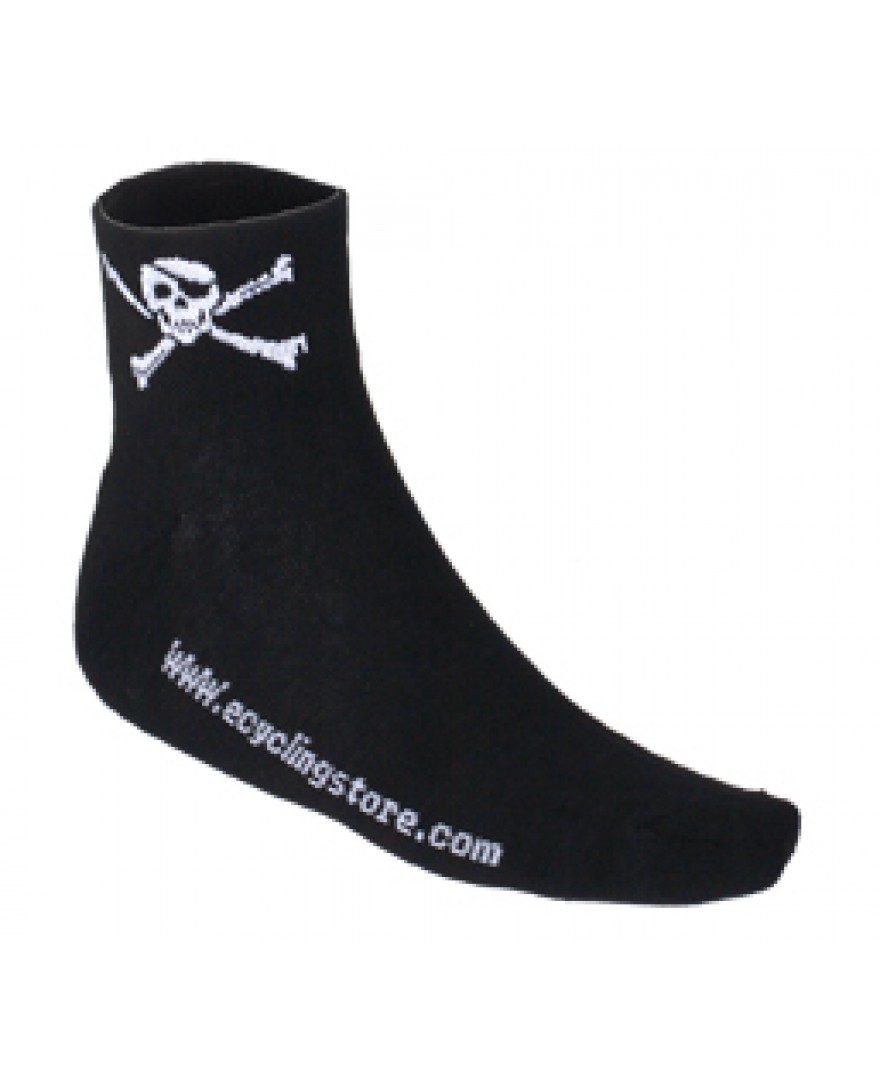 eCyclingstore Skull and Crossbones Cycling Socks