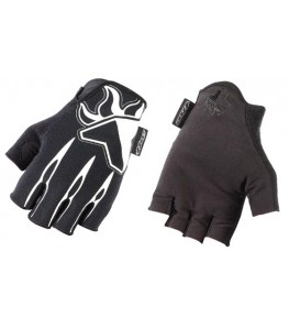 THE Skinz Half Finger Gloves Black