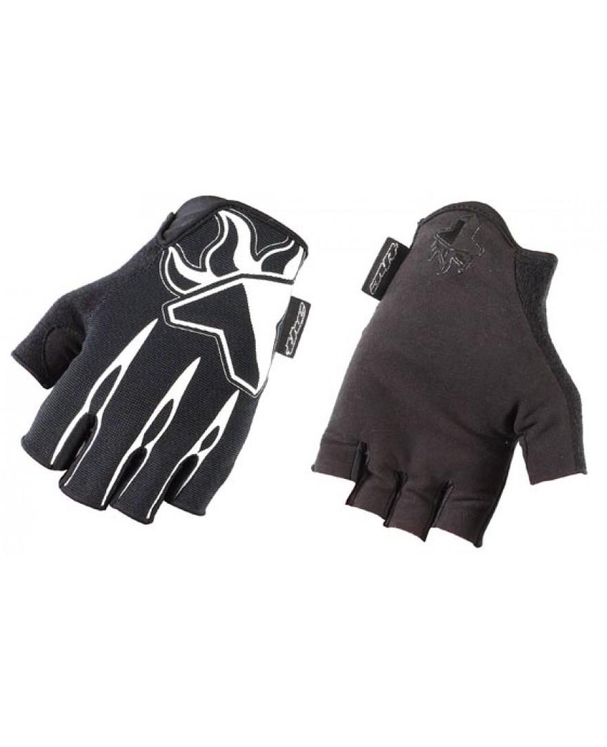THE Skinz Half Finger Gloves Black