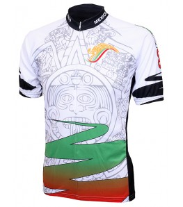 World Jerseys Mexico Aztec Mens Cycling Jersey