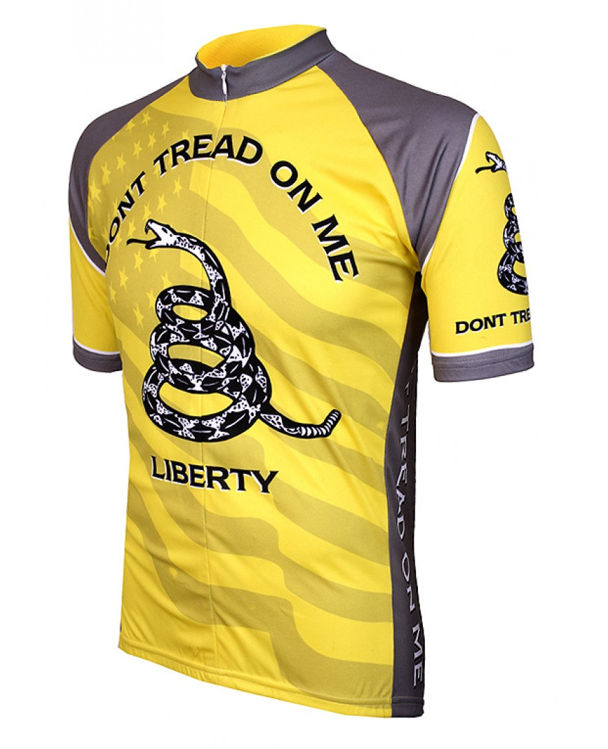Don't Tread on Me Mens Cycling Jersey