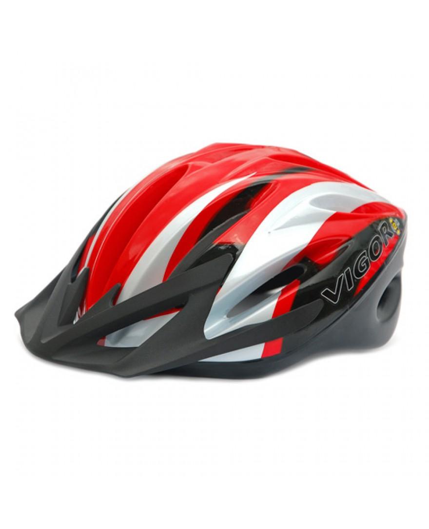 Vigor NOX Road Bike Helmet Red