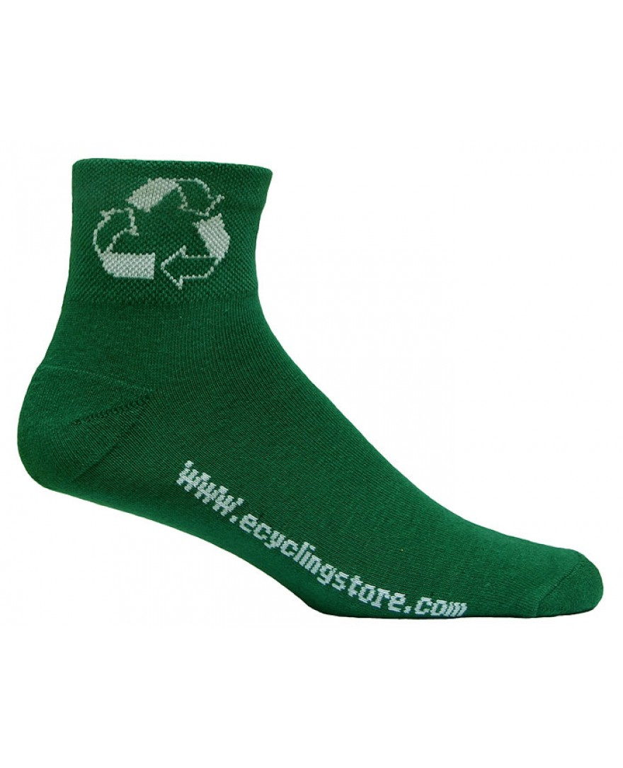 eCyclingstore Recycle Reuse Cycling Socks