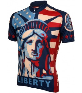 World Jerseys Liberty Mens Cycling Jersey