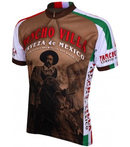 World Jerseys Pancho Villa Cerveza Mens Cycling Jersey