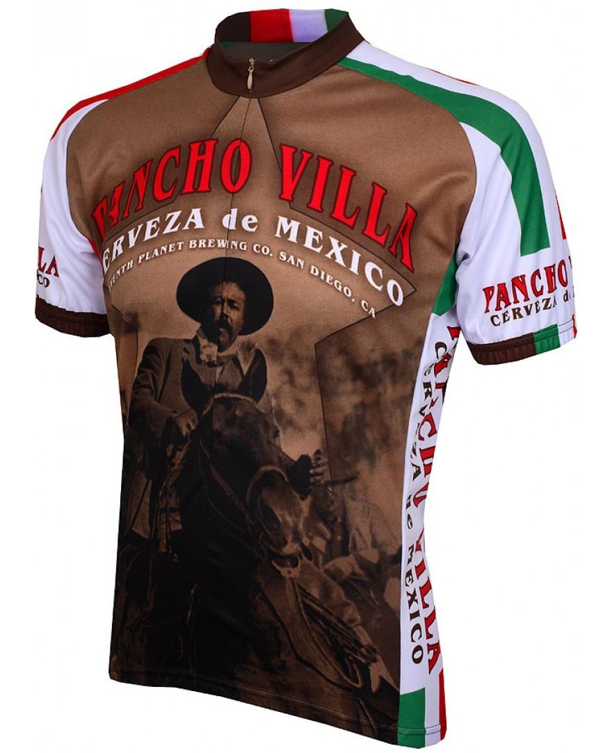 World Jerseys Pancho Villa Cerveza Mens Cycling Jersey