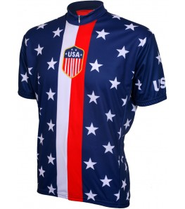 Retro 1956 USA Mens Cycling Jersey