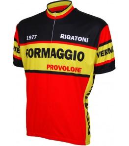 Formaggio 1977 Retro Mens Cycling Jersey