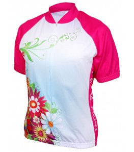 World Jerseys Bella Fiori Womens Cycling Jersey