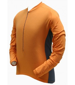 Ecycle dri-release (r) Wool Mens Cycling Jersey Orange