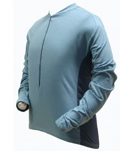 Ecycle dri-release (r) Wool Mens Cycling Jersey Moss