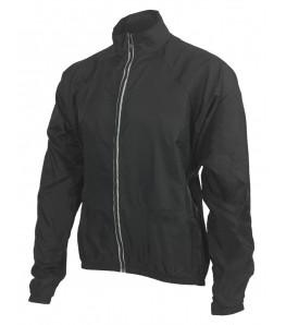Ecycle Reflective Windbreaker Jacket Black Mens